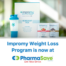 Impromy Weight loss program is NOW at Pharmasave