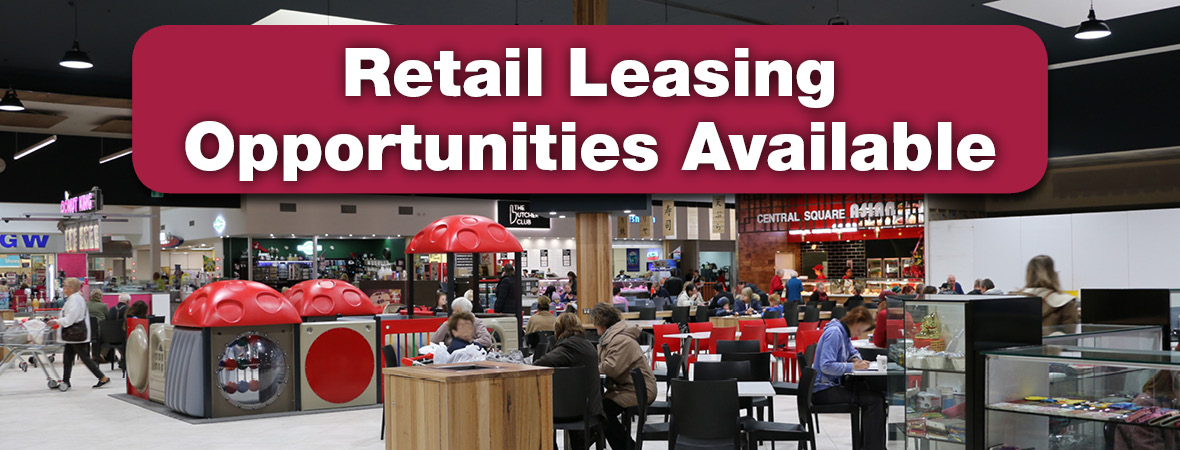 Retail Leasing Opportunities Available